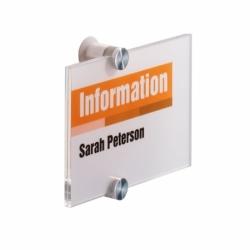 Tabliczka informacyjna CRYSTAL SIGN 148 x 105 mm
