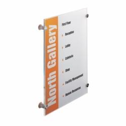 Tabliczka informacyjna CRYSTAL SIGN 297 x 420 mm