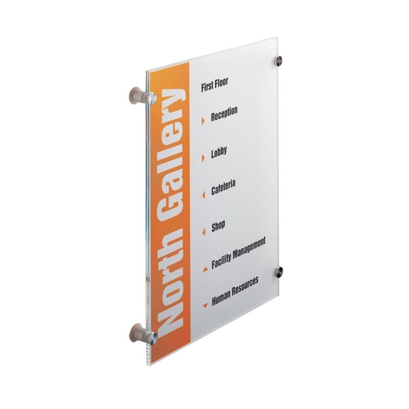 CRYSTAL SIGN tabliczka przydrzwiowa A3 297x420 mm