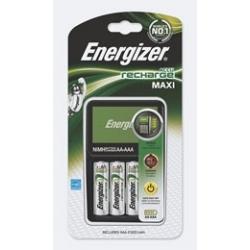 Ładowarka Energizer Maxi + 4 akumulatorki Energizer Power Plus AA