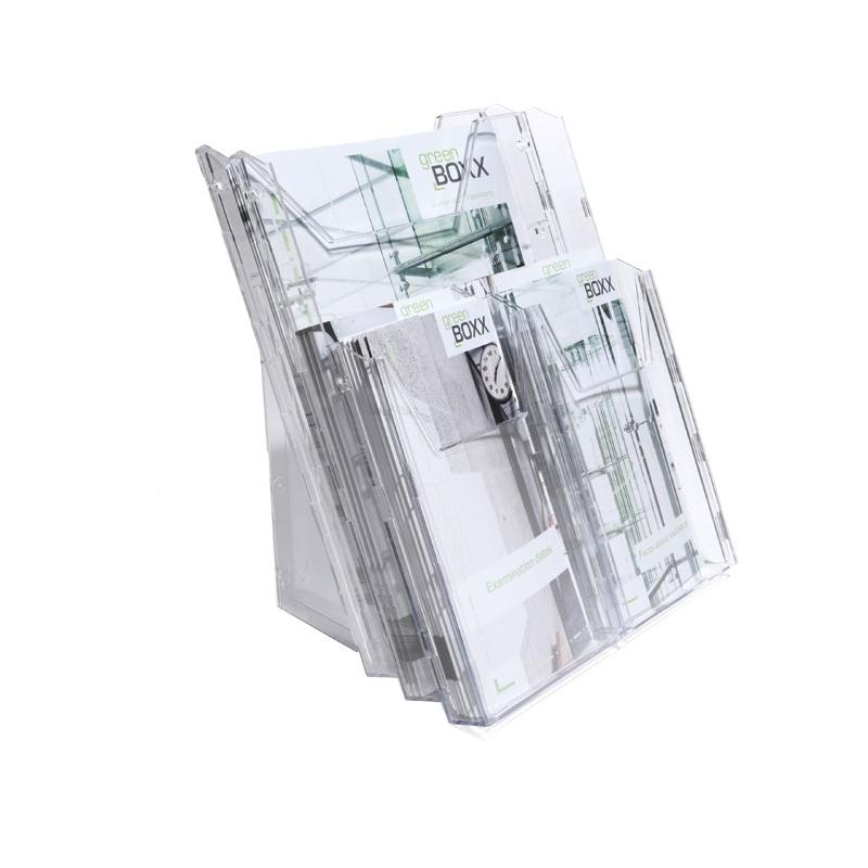COMBIBOXX PRO pojemnik na ulotki A4 i cztery pojemniki 1/3 A4