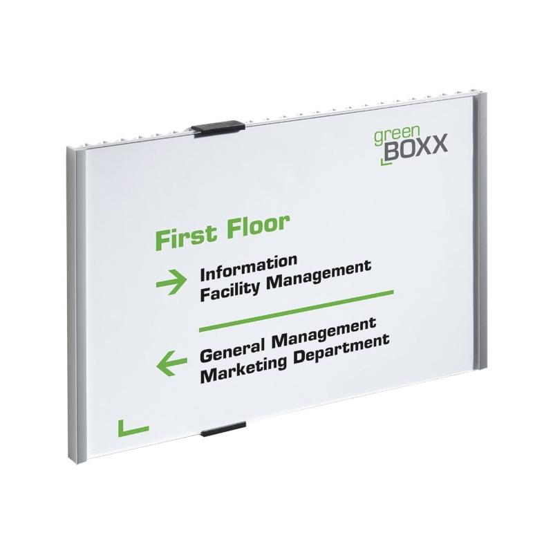 INFO SIGN tabliczka przydrzwiowa A4 pozioma, 210x297 mm (W x S)