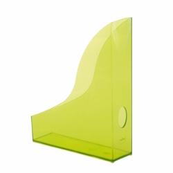 Pojemnik na katalogi A4 Durable Basic zielony przezroczysta