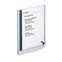 Tabliczki informacyjne Click Sign 210x297mm grafitowa