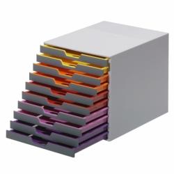 Pojemnik z szufladami Durable VARICOLOR 10