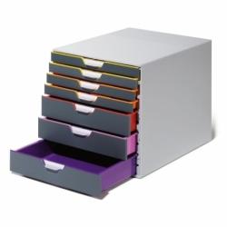 Pojemnik z szufladami Durable VARICOLOR 7