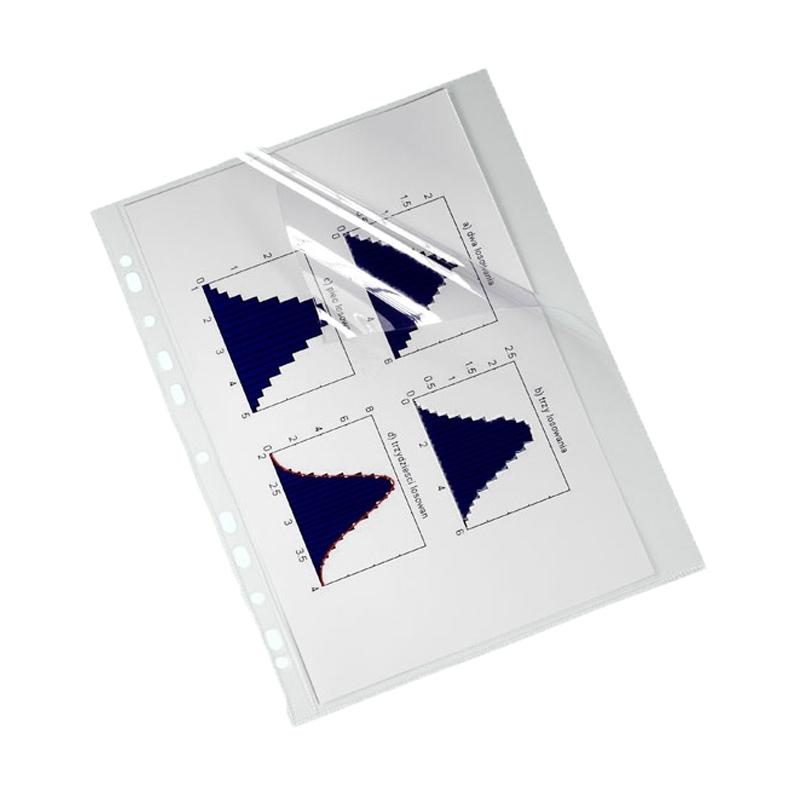 "Koszulka krystaliczna A4 twarda Biurfol A4, 150 mic, ""L"", opak. 25 szt"