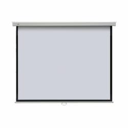 Ekran projekcyjny POP manualny ścienny, format 4:3 145 x 195 cm