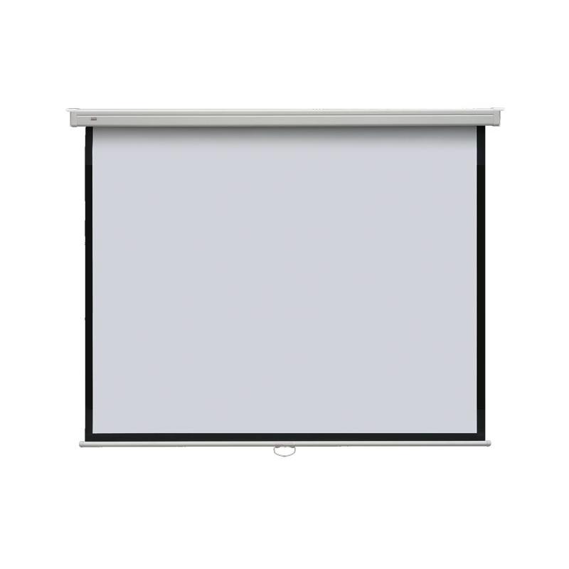 Ekran projekcyjny POP manualny ナ嫩ienny, format 4:3 108 x 147 cm