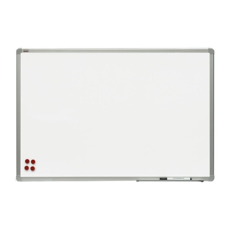 Tablica suchościeralna-magnetyczna lakierowana w ramie aluminiowej OfficeBoard 120x90