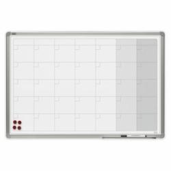 Planer magnetyczny w ramie OfficeBoard miesięczny 90x60cm