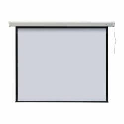 Ekran projekcyjny PROFI elektryczny, format 4:3 145 x 195 cm