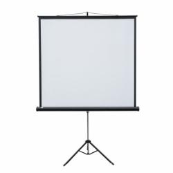 Ekran projekcyjny POP przenośny na trójnogu, format 4:3 122 x 165 cm