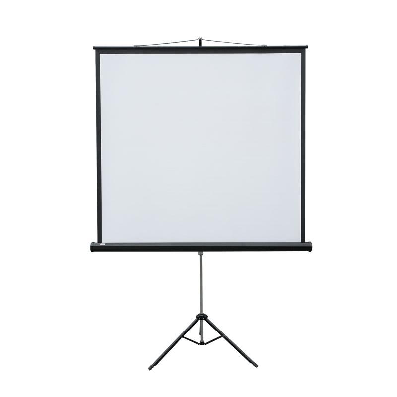 Ekran projekcyjny POP przenoナ嬾y na trテウjnogu, format 4:3 145 x 195 cm