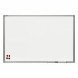 Tablica suchościeralna-magnetyczna ceramiczna w ramie aluminiowej OfficeBoard 90x60