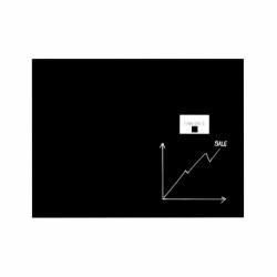 Tablica szklana-magnetyczna 40x60 cm