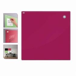 Tablica szklana-magnetyczna 120x90 cm czerwona