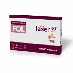 Papier satynowany POL Color Laser 90g A3, 250 ark.