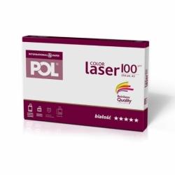 Papier satynowany POL Color Laser 100g A3, 250 ark.