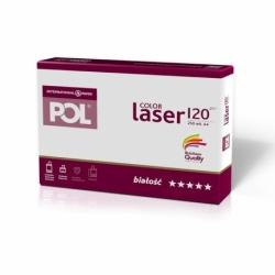 Papier satynowany POL Color Laser 120g A4, 250 ark.