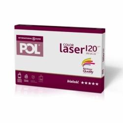 Papier satynowany POL Color Laser 120g A3, 250 ark.