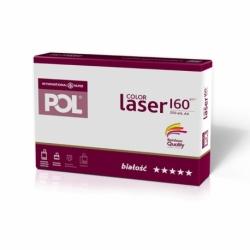 Papier satynowany POL Color Laser 160g A4, 250 ark.