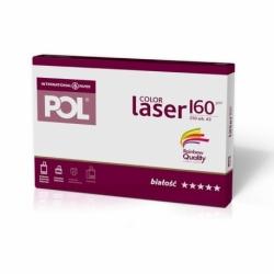 Papier satynowany POL Color Laser 160g A3, 250 ark.