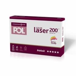 Papier satynowany POL Color Laser 200g A4, 250 ark.