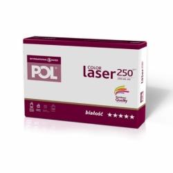 Papier satynowany POL Color Laser 250g A4, 250 ark.