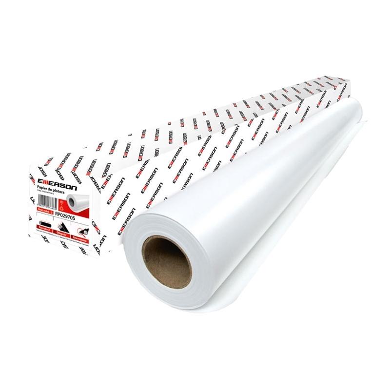 Papier do plotera, rolka 50 m 80 g / 914 mm