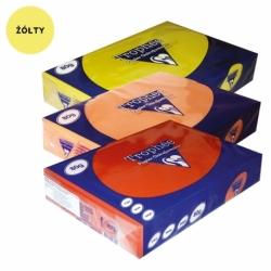PAPIERY KOLOROWE PASTELOWE TROPHEE A4, 160 G żółty