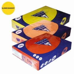 Papier kolorowy intensywny TROPHEE A4, 80g. słonecznikowy