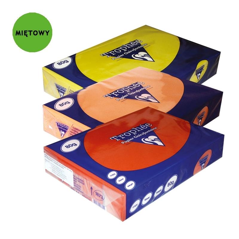 Papier kolorowy intensywny TROPHEE A4, 160g miト冲owy