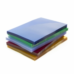 Okładki przezroczyste do bindowania Prestige, 100 szt. A4, 0,20 mm niebieska