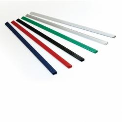 Listwy wsuwane ARGO opak.50 szt. 9 mm, do 40 kartek biały