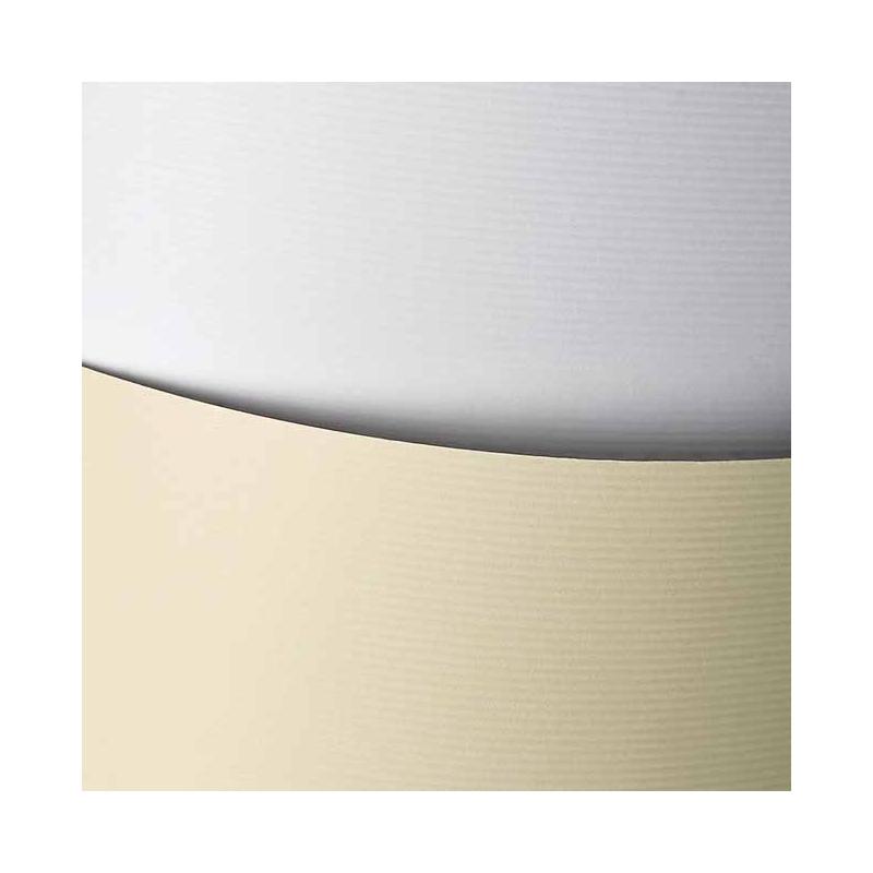 Karton ozdobny Galeria Papieru A4, 20 ark. Linie biały