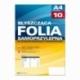 Folia samoprzylepna Argo op.10szt 80mic biaナB