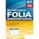 Folia samoprzylepna Argo op.10szt 80mic srebrna