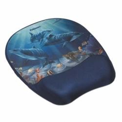 Podkładka piankowa pod mysz Memory Foam delfiny