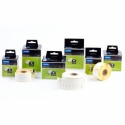 Etykiety do drukarek Dymo LabelWriter 89x28mm adresowa biała / 2x130 etykiet