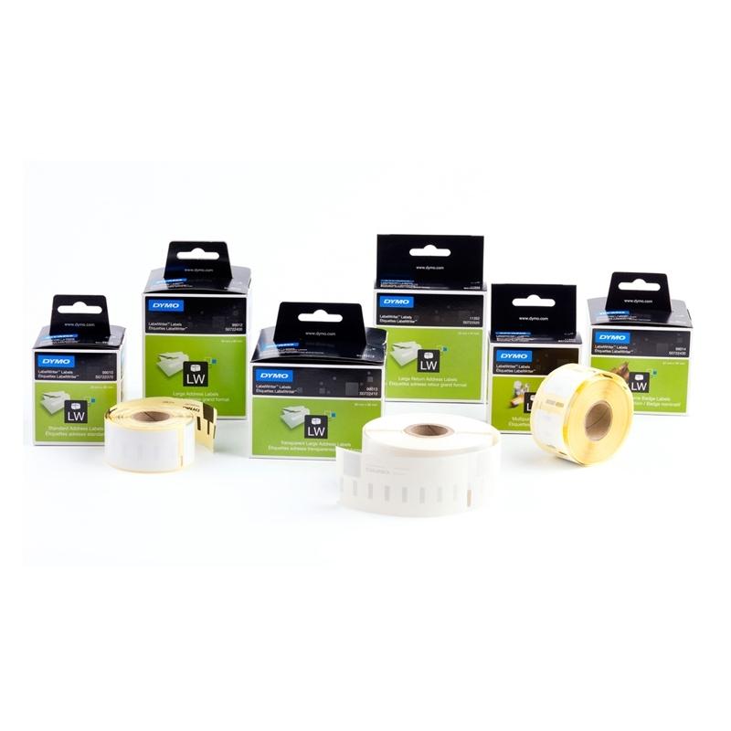 Etykiety do drukarek Dymo LabelWriter 89x28mm adresowa biaナB / 2x130 etykiet