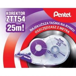 Korektor w taśmie Pentel ZT54 4,2mm x 25m