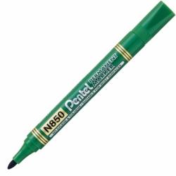 Marker permanentny Pentel N850 zielony, okrągłą końcówka