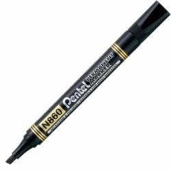 Marker permanentny Pentel N860 czarny ścięta końcówka