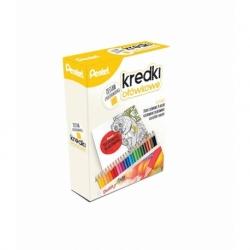 Kredki ołówkowe + kolorowanka 24 kolory
