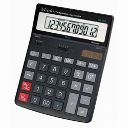 Kalkulator Vector DK-206BLK