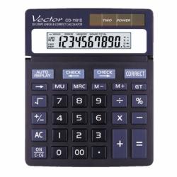 Kalkulator Vector CD-1181 II