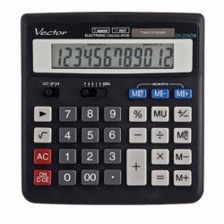 Kalkulator Vector DK-209DM BLK