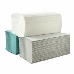 Ręczniki składane ZZ Linea białe 4000 listków, 100% makulatury, 1 warstwowy, biały