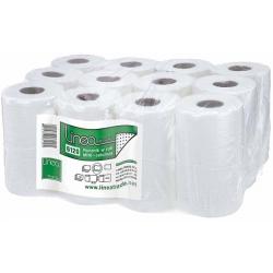 Ręczniki w roli Linea celulozowe mini, biały 2 warst.